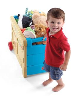 Step2  Lift and Roll Toy Box , New, Free Shipping