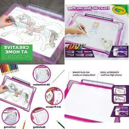 Crayola Light Up Tracing Pad Pink, Amz Exclusive, At Home Ki
