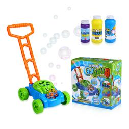 Bubble Mower for Toddlers Kids Outdoor Lawn Bubble Blower Ma