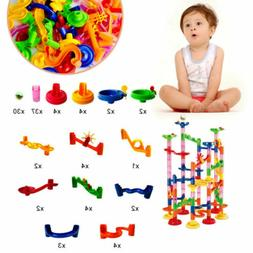 Elongdi Marble Run Race Coaster Set, Marble Run Railway Toys