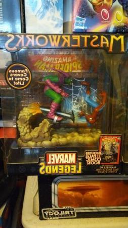 Marvel Legends Masterworks Spiderman Green Goblin Toy Figure