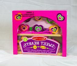 melissa and doug sweet hearts wooden bead