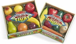 Melissa Doug Play-Time Produce Fruit  and Vegetables  Realis