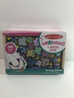 Melissa  Doug Sweet Hearts and Butterfly Friends Bead Set of