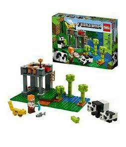 LEGO Minecraft The Panda Nursery 21158 Construction Toy for