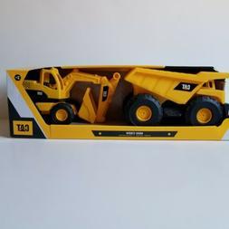 Cat Mini Crew Dump Truck & Excavator Caterpillar Constructio