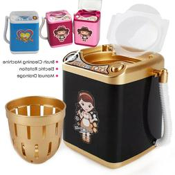 Mini Electric Washing Machine Kids Dollhouse Toy Makeup Brus