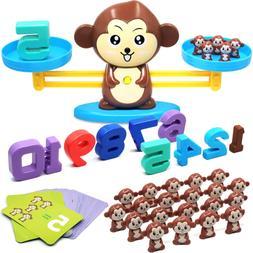 Monkey Balance Cool Math Game Fun Educational For Girls Boys