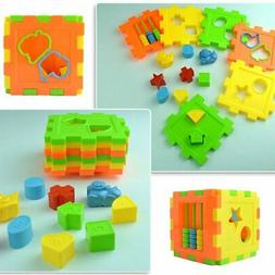 Multi Shape Sorter Cube Intelligence Box Cognitive Building