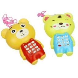 Music Phone Fun Toys 0-3T  Music Educational Toys Kids Baby
