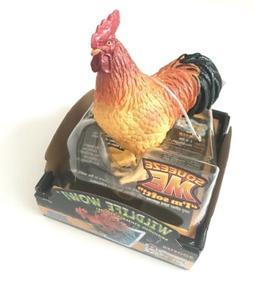 National Geographic Wildlife Wow ROOSTER NEW!!! Bring Animal