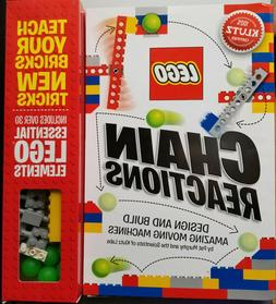 New Klutz LEGO Chain Reactions Building Kit Book with Bricks