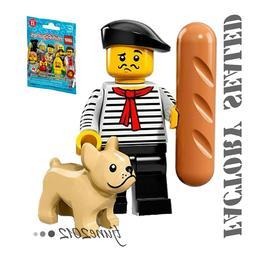 NEW LEGO Minifigures Series 17 CONNOISSEUR DOG BAGUETTE 7101
