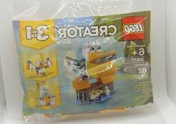 NIP Lego Creator 3 in 1 #30571 Pelican Building Toy! Age 6+