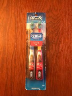 Oral-B Kids Manual Toothbrush featuring Disney & Pixar's Car