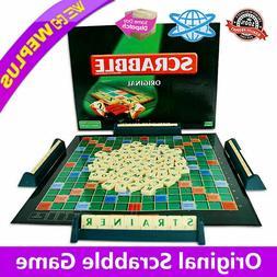original scrabble board game family kids edition