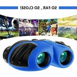Outdoor Toys For 4-8 Year Old Boys, Compact Shockproof Binoc