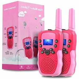 Outdoor Toys Toddlers Age 3-5,OMWay Kids Walkie Talkies Girl