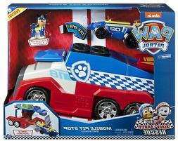 Paw Patrol Ready Race Rescue Team Vehicle Mobile Pit Stop Ve