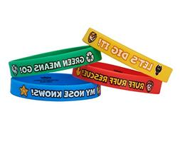 American Greetings PAW Patrol Rubber Bracelets, Party Suppli