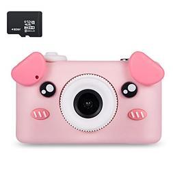 Abdtech Piggy Kids Camera Best Birthday Gifts, Outdoor Toys