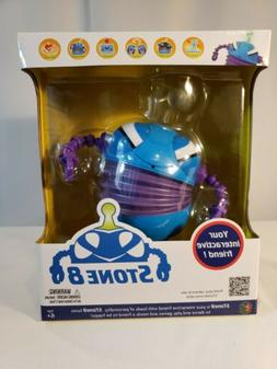 Stone8 Robot - Blue Kid's Interactive Toy Robot Play Games W