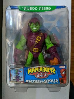 Spiderman and his amazing friends Green Goblin Action Figure