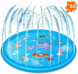 Splash Pad Sprinkler for Kids and Wading Pool Childrens Infl