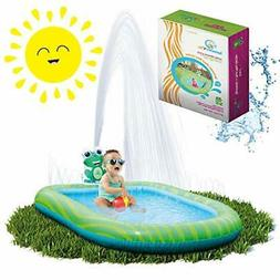 Splashin'kids 3 in 1 Inflatable Sprinkler Pool for Kids, Bab