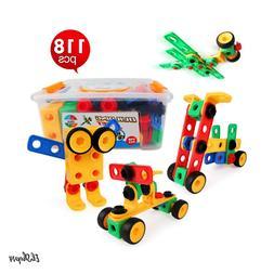 Stem Building Learning Toys For Kids Boys Girls Age 3 4 5 6