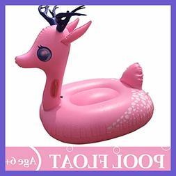 Swimline Inflatable Unicorn Baby Floating Lounger Raft Float