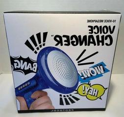 Toy Protocol 10 Voice Megaphone Voice Changer One Size Blue