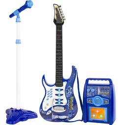 Toy Guitar For Kids Ages 3 5 7 Electric Boys Musical Play Se