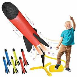 Toy Rocket Launcher for kids – Shoots Up to 100 Feet – 8