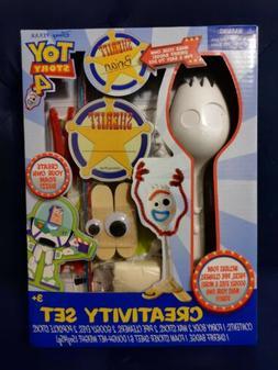 Toy Story 4 Creativity Set Forky Buzz NEW Disney Crafts Kids