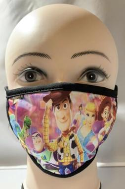 Toy Story Kids 3-5 Years/ Cloth Face Covering/Washable/Handm