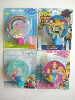 Toy Story, Peppa Pig, Princess, Frozen, LED Night Light Rota