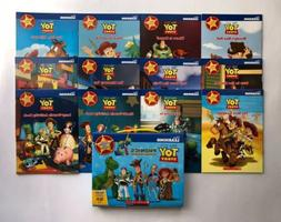 Toy Story Phonics Childrens Books Learn to Read Box Set Lot