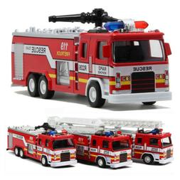 Toys for Kids Boys Metal Aerial Rescue Fire Truck Educationa