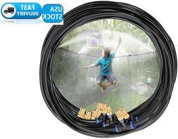 Trampoline Sprinkler For Kids Outdoor Summer Water Game  Fun