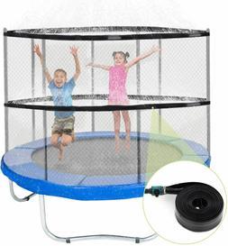 Trampoline Sprinklers for Kids, Trampoline Spray Water Park