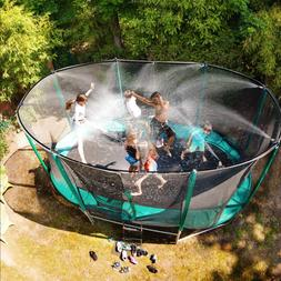 Trampoline Water Game Sprinkler For Kids Outdoor Summer Fun