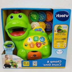 VTech Educational Kids Toy Chomp And Count Dino Baby Toddler