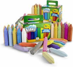 Crayola Washable Sidewalk Chalk Set, Outdoor Toy, Gift for K