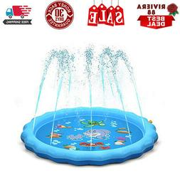Water Mat Outside Toys Water Toys for Kids, Outdoor Toys for