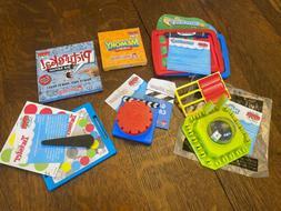 Wendy's kids meal toys - Hasbro Game Night 2013 - Six Trav