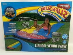 Wham-O Slip N Slide Wave Rider Double Backyard Water Slide E
