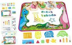 YAHO Kids Toys Magic Color Mat - Drawing Mat Painting Writin