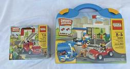 Lego Young Builders Ages 4-8 NIB Suitcase 10659 & Fire Stati