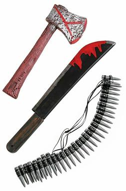 Zombie Hunting Kit 3 Piece Kids Toys Fun Costume Accessories